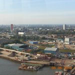 The hotel from Emirates Air Line- Royal Docks