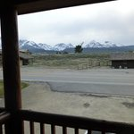 Sawtooth Mountain view from front porch