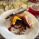 French Toast with Panacotta