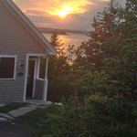 sunset view from the seahorse cottage!
