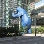 Convention Center's Big Blue Bear