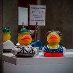 You can buy those rubber ducks at the hotel :)