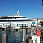 Key West Express docked in KW. Photo by Linda Lee Flading