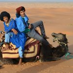 Ali and Alil, Fantastic Guides for Camel Rides