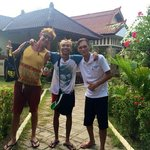 with Adi and Oldin at Tropical Hideaways