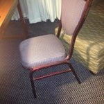 "This is the ""desk"" chair in the room..."