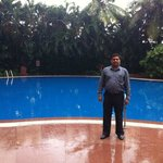 Naveen at the Pool