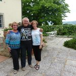 Patricia and Graziella with Fulvio