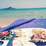 you can do lunch in the beach