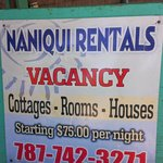 Naniqui Rental Sign