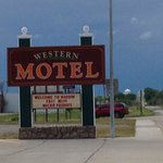 The Western Motel in Hardin, MT