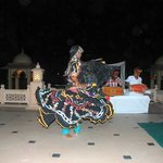 Local Rajasthani performer