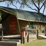 Foto van Wildside Tent Camp Lion Park