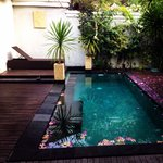 Asoka villa private pool.