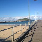 The pier at Coffs Harbour