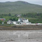 Aultbea hotel from across the bay