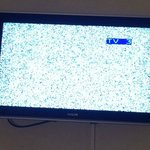 TV didn't work. This is ITV when the England match was on.