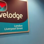 Travelodge London Liverpool Street Foto