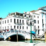 View of Locanda Vivaldi and bridge