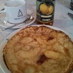 Syliva's amazing apple pancake!