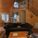 Bear Creek Cabin-main room