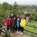 Lee took this photo for us. The Cotswolds! Lets go back!