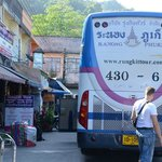 bus from Ranong to Phuket, not for from the Farm house hotel