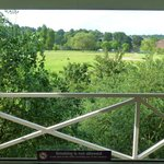 view from Room 312, Premier Inn, Caversham Bridge, Reading - June 2014