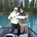 Salmon fishing with Ben on the Kenai River