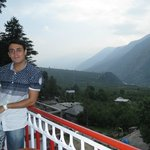 Naggar valley view from room's balcony