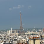Eiffel Tower from room 63