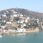 View of Kingswear from Dartmouth centre (5mins walk from Valley House)
