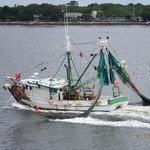 Shrimp Boat passing by