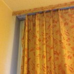 the curtain rail