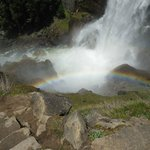 Rainbow near the base of Vernal fall