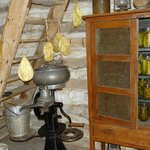 Pantry on living farm