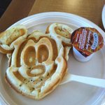 Mickey Waffle for Breakfast