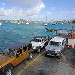 Virgin Islands Ferry - Red Hook Foto