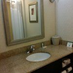 The bathroom was very spacious and clean. Rm. #224