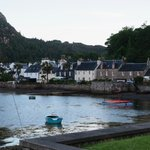 Plockton Hotel on the quayside