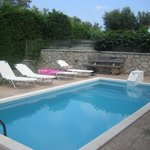 Small pool suitable for cooling off - Depth 1.4m throughout