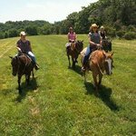Perfect day  for a trail ride.