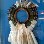 Brazilian Indian tribe Head dress