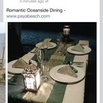 Romantic Ocean Side Dining