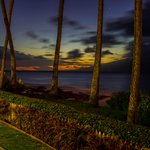 Sunset at Napili Surf Beach Resort