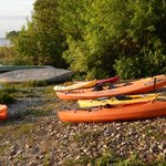 Kayaks to borrow