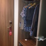 Door and closet
