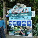 Waiteti Trout Stream Holiday Park Foto