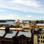 View of the Opera house from the roof terrace