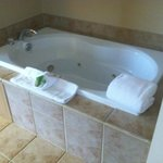 Nice Jacuzzi tub in room